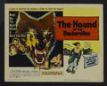 "Movie Posters:Crime, The Hound of the Baskervilles (United Artists, 1959). Title LobbyCard (11"" X 14""). Mystery. Starring Peter Cushing, Andre M..."