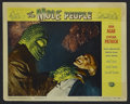 "Movie Posters:Science Fiction, The Mole People (Universal International, 1956). Lobby Card (11"" X14""). Science Fiction. Starring John Agar, Cynthia Patric..."