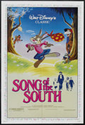 "Movie Posters:Animated, Song of the South (Buena Vista, R-1986). One Sheet (27"" X 41"").Musical. Starring Ruth Warrick, Bobby Driscoll, James Basket..."