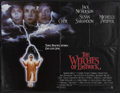 "Movie Posters:Drama, The Witches of Eastwick (Warner Brothers, 1987). British Quad (30"" X 40""). Comedy Thriller. Starring Jack Nicholson, Cher, S..."