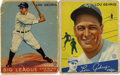 Basketball Cards:Lots, 1933-34 Goudey Lou Gehrig Cards Group Lot of 2. Two of the mostdesirable Lou Gehrig cards offered here from the classic Go...