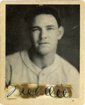 Autographs:Sports Cards, Mel Ott Cut Signature on 1939 Play Ball #51. Unique display has a fine Mel Ott cut signature glued to his card from the 193...