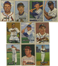 Autographs:Sports Cards, 1951-52 Bowman Signed Cards Group Lot of 10. From two of the hobby's most sought-after issues we present this group of ten ...