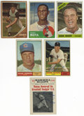 Autographs:Sports Cards, 1961-68 Baseball Cards Group Lot of 20. Great group of 20 cards from baseball issues released between the years 1961-68, al...
