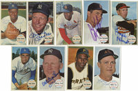 1964 Topps Giants Group Lot of 59, Signed by 58. Great near-set of the oversized 1964 Topps Giants is missing only three...