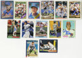 Autographs:Sports Cards, Assorted Baseball Stars Signed Cards Group Lot of 68. Great collection of baseball stars from a variety of modern issues in...