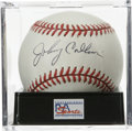 Autographs:Baseballs, Johnny Callison Single Signed Baseball, PSA NM-MT+ 8.5.Philadelphia fan-favorite Johnny Callison his left the providedoff...