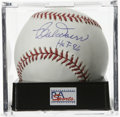 "Autographs:Baseballs, Bobby Doerr ""HOF 86"" Single Signed Baseball, PSA Mint 9. The BostonRed Sox Hall of Famer makes note of his induction date ..."