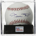 Autographs:Baseballs, Willie Mays Single Signed Baseball, PSA Gem Mint 10. Gem Mintexample of the Say Hey Kid's desirable signature. Ball has be...