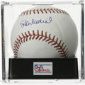 Autographs:Baseballs, Stan Musial Single Signed Baseball, PSA Gem Mint 10. Stan the Man,whose 24 All-Star appearances is staggering to say the l...