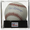 Autographs:Baseballs, Mel Stottlemyre Single Signed Baseball, PSA NM-MT+ 8.5. Long timeYankees great Mel Stottlemyre gives us this OML ball ador...
