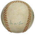 Autographs:Baseballs, 1973 California Angels Team Signed Baseball. California Angelssouvenir baseball here has been adorned by signatures from 1...