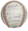 Autographs:Baseballs, 1988 Los Angeles Dodgers Team Signed Baseball. Twenty-sixsignatures from the 1988 Los Angeles Dodgers appear on this ball...