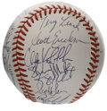 Autographs:Baseballs, 1991 Minnesota Twins World Champion Team Signed Baseball. Tom Kellyled his Minnesota Twins to the World Series in 1991, em...