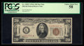 Small Size:World War II Emergency Notes, Fr. 2305* $20 1934A Hawaii Federal Reserve Note. PCGS Choice AboutNew 58.. ...