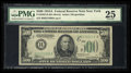 Small Size:Federal Reserve Notes, Fr. 2202-B $500 1934A Federal Reserve Note. PMG Very Fine 25.. ...