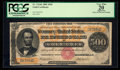 Large Size:Gold Certificates, Fr. 1216b $500 1882 Gold Certificate PCGS Apparent Very Fine 20.....