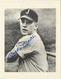 Autographs:Photos, Mickey Mantle Signed Minor League Photograph. Shown as a youngsterwith the Class C affiliate of the New York Yankees, Mick...