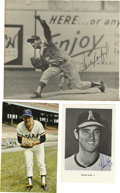 Autographs:Photos, Hall of Fame Pitchers Signed Photographs Lot of 3. Mound dominancewas a shared trait of each of the three subjects in the ... (Total:3 items)