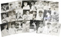 Autographs:Post Cards, Massive Collection of Signed Baseball Postcards Lot of 175. A total of 175 photographic postcards are made available in thi...