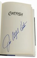 Autographs:Others, Catfish Hunter Signed Autobiography with Signed Card. An absolutewizard on the mound, Catfish Hunter was regarded among on...