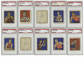 Basketball Cards:Lots, 1948 Bowman Basketball PSA-Graded Group Lot of 10. From theimportant early basketball issue, we offer this fine group of 1...(Total: 10 )