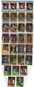 Basketball Cards:Lots, 1981-90 Basketball Cards Group Lot of 29. All of your favoritehoops stars of the 1980s are up for grabs in the current of...
