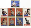 Boxing Cards:General, 1948 Leaf Boxing Group Lot of 53. From the classic 1948 Leaf boxing issue we offer this fine lot of 53 cards. Known as one...