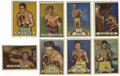 Boxing Cards:General, 1951 Topps Ringside Group Lot of 28. The tremendous art that the 1951 Topps Ringside is known for is on full display here w...