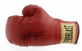 Boxing Collectibles:Autographs, Joe Frazier Signed Boxing Glove. One of Ali's storied rivals is thefocus of this impressive lot. Stunning black sharpie sig...