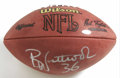 Football Collectibles:Balls, Brian Westbrook Single Signed Football. A back among the more dependable ground-gainers in the current NFL game is the subj...