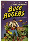 Golden Age (1938-1955):Science Fiction, Buck Rogers #100 (#7) Mile High pedigree (Toby Publishing, 1951)Condition: VF. Flying saucer cover and story. Strip reprint...