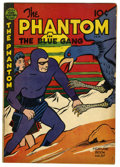 "Golden Age (1938-1955):Miscellaneous, Feature Books #57 Davis Crippen (""D"" Copy) pedigree (David McKay, 1948) Condition: VG+. The Phantom in ""The Blue Gang."" Over..."