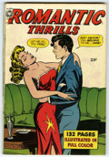 Golden Age (1938-1955):Romance, Fox Giants: Romantic Thrills (Fox Features Syndicate, 1950)Condition: VF-. This square bound 132-pager contains re-bound co...