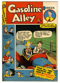 """Gasoline Alley #1 Davis Crippen (""""D"""" Copy) pedigree (Star Publications, 1950) Condition: VG. Contains 1-page i..."""