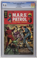 Silver Age (1956-1969):Science Fiction, M.A.R.S. Patrol Total War #7 and 9 CGC File Copy Group (Gold Key, 1968-69). Contains a CGC NM 9.4 copy of #7 (line drawn... (Total: 2 Comic Books)