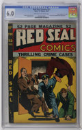 """Golden Age (1938-1955):Crime, Red Seal Comics #21 Davis Crippen (""""D"""" Copy) pedigree (Chesler, 1947) CGC FN 6.0 Light tan to off-white pages. Lady Satan an..."""