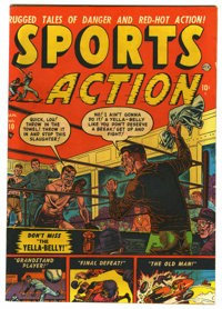 "Sports Action #10 Davis Crippen (""D"" Copy) pedigree (Atlas, 1952) Condition: FN+. Joe Maneely cover. George tu..."