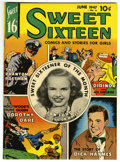 Golden Age (1938-1955):Non-Fiction, Sweet Sixteen #6 Mile High pedigree (Parents' Magazine Institute,1947) Condition: NM. Partial photo cover. Overstreet 2006 ...