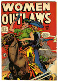 Golden Age (1938-1955):Crime, Women Outlaws #5 (Fox Features Syndicate, 1949) Condition: VG+. Overstreet 2006 VG 4.0 value = $94. From the John McLaughl...