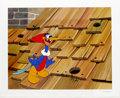 "Animation Art:Limited Edition Cel, ""Rooftop Woody Woodpecker"" Limited Edition Hand Painted Cel#197/200 Original Art (Walter Lantz Productions, 1991). Woody Wo...(Total: 2 Items)"