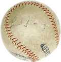 Autographs:Baseballs, Early 1930's Lou Gehrig Single Signed Baseball. Anyone with even a passing knowledge of the Hall of Fame autograph market k...