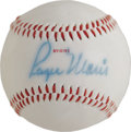 "Autographs:Baseballs, 1980's Roger Maris Single Signed Baseball, PSA NM-MT 8. ""RogerMaris was as good a man and as good a ballplayer as there ev..."
