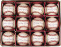 Autographs:Baseballs, 1980's Mickey Mantle Single Signed Baseballs Lot of 12. Dealers andcollectors alike would be well advised to take notice o... (Total:12 )