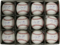 Autographs:Baseballs, Pete Rose Single Signed Baseballs Lot of 12. A dozen flawless sweetspot signatures from Charlie Hustle, each featuring the... (Total:12 )