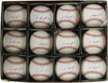Autographs:Baseballs, Alex Rodriguez Single Signed Baseballs Lot of 12. Arguably the mostgifted ballplayer active today, if not the best of all ... (Total:12 )