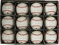Autographs:Baseballs, Barry Bonds Single Signed Baseballs Lot of 12. Will he catch Hank,or won't he? If you're betting that he'll reach 756, th... (Total:12 )