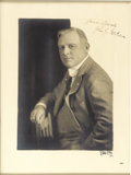 Autographs:Photos, 1930's John McGraw Signed Large Photograph. Outstanding studio portrait of this thirty-one year veteran of the Polo Grounds...