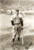 Autographs:Photos, 1938 Joe DiMaggio Vintage Signed Photograph. While there iscertainly no shortage of modern prints signed by the Yankee Cli...