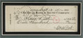 Autographs:Checks, 1941 Babe Ruth Signed Check to His Wife Claire, PSA Mint 9.Fourteen years to the day after the Babe clubbed two home runs ...